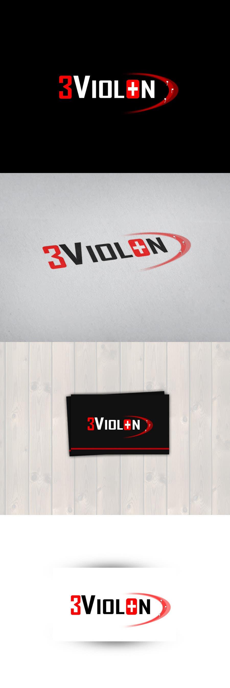 Konkurrenceindlæg #448 for Logo Design for 3Violon