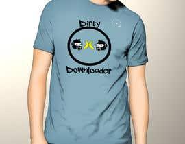 #25 para T-Shirt Design Contest: Dirty Downloader por fadishahz