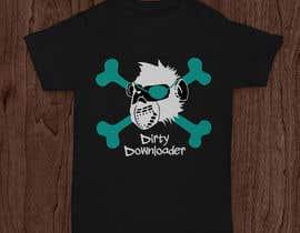 #13 para T-Shirt Design Contest: Dirty Downloader por danidg86