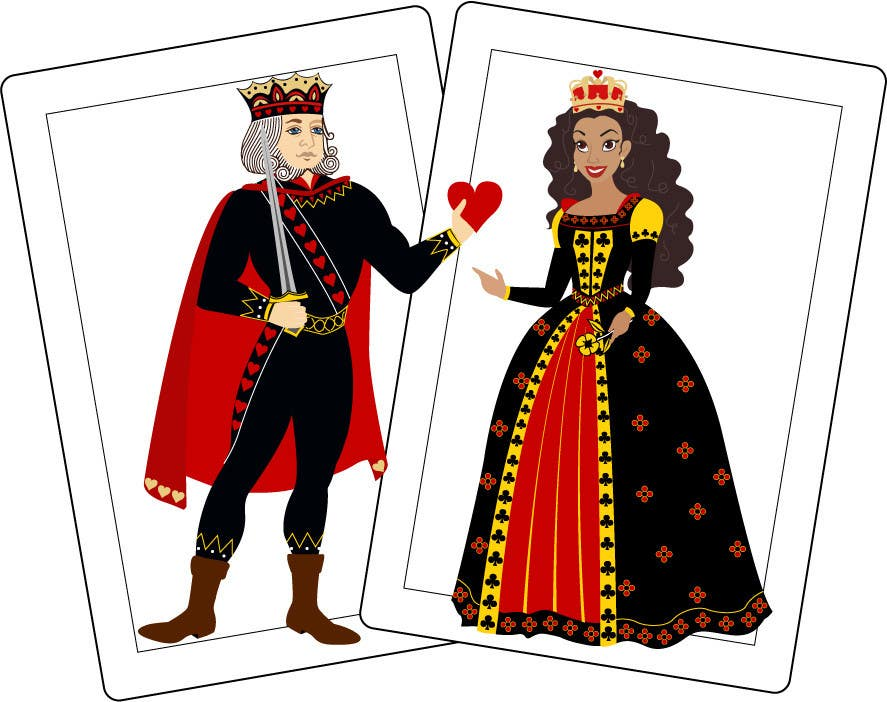 Contest Entry #43 for King of Hearts - Queen of Spades in Love  sc 1 st  Freelancer & Entry #43 by subrosoren for King of Hearts - Queen of Spades in Love ...