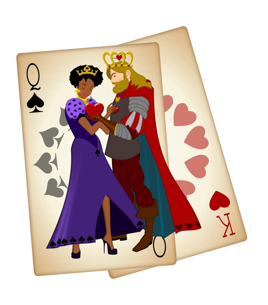 How does the Queen of Spades look like I do not need references, theory We need a photo. Your photo is PD