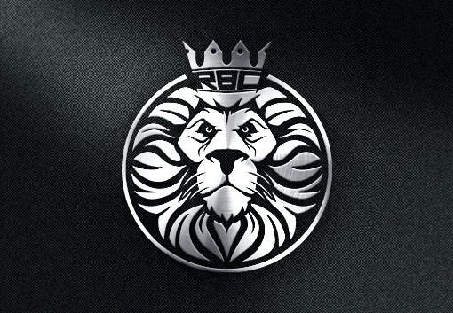 Draw A Lion With Crown For Use As Logo