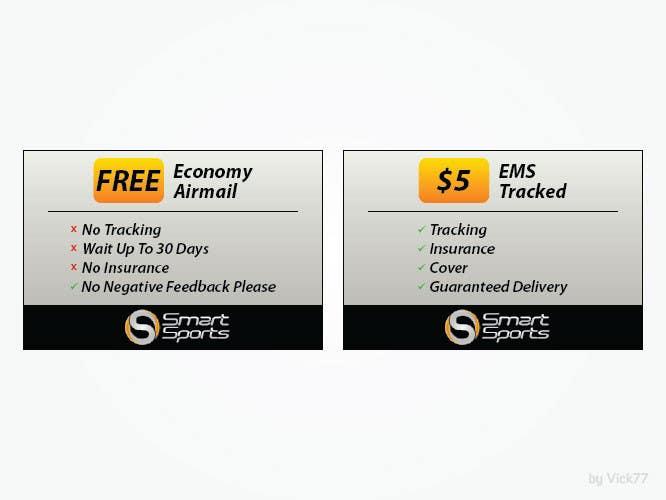 Penyertaan Peraduan #                                        5                                      untuk                                         Design 2 Icons for Shipping profile on ebay