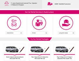 #12 for Car Rental Web Site. Design the main page, win contest and continue working with us on this site in a project environment at $50-100 per page. by akminfo