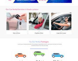 #22 for Car Rental Web Site. Design the main page, win contest and continue working with us on this site in a project environment at $50-100 per page. by tomydeveloper