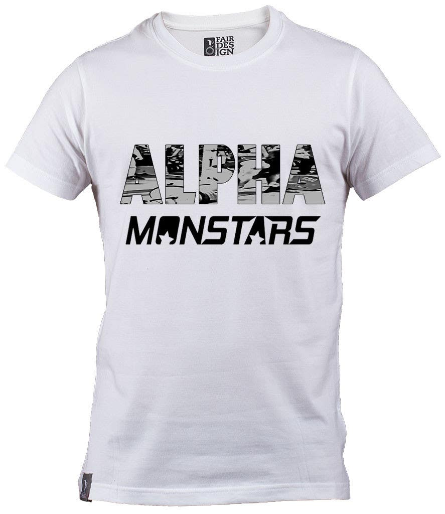 Bài tham dự cuộc thi #                                        8                                      cho                                         Design a T-Shirt for Monstar Apparel - Words with background Images