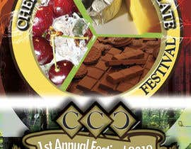 scyan tarafından Flyer & Basic Logo for Dullstroom Cherry Cheese and Chocolate Festival için no 15