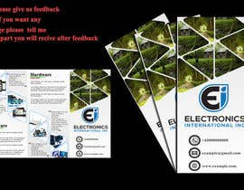 Nro 11 kilpailuun Tri Fold Brochure Design käyttäjältä ARMANLIFE