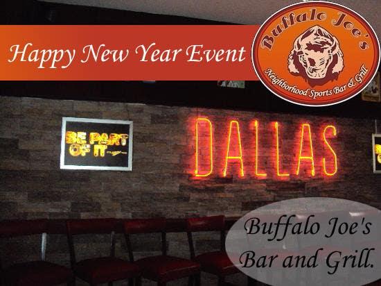"Intrarea #                                        3                                      pentru concursul ""                                        New Year Eve Image/Banner for a Dallas Bar                                     """
