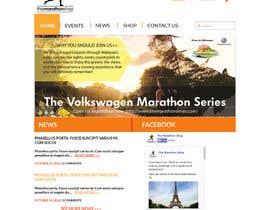 #37 cho Design a Website Mockup for TheMarathonShop bởi maits90