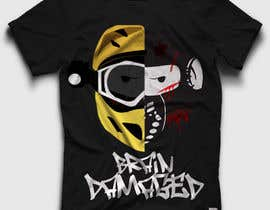 #17 para T-Shirt Design: Brain Damaged por DesignerCS