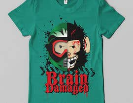 #13 para T-Shirt Design: Brain Damaged por Franstyas