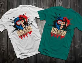 #28 para T-Shirt Design: Brain Damaged por Drhen