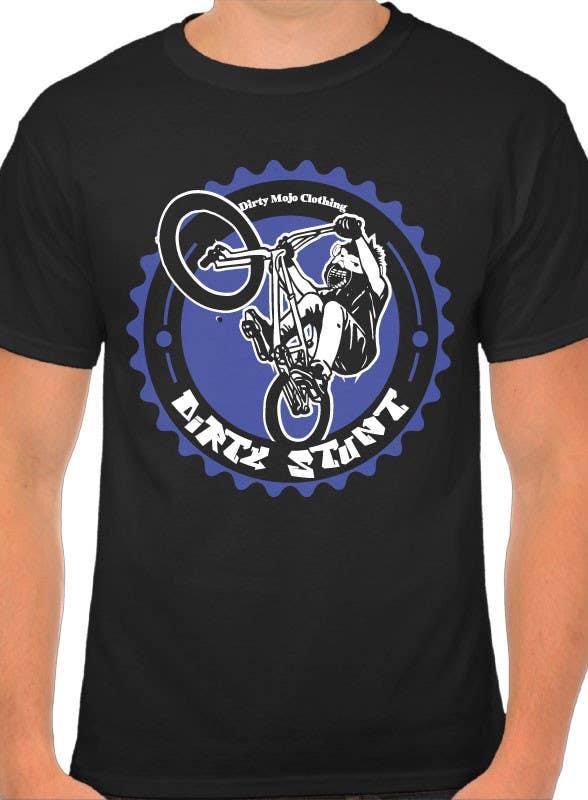 Proposition n°                                        11                                      du concours                                         T-Shirt Design Contest: Dirty Stunt