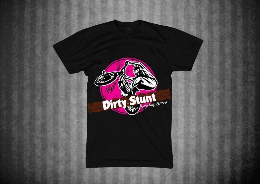 Proposition n°                                        33                                      du concours                                         T-Shirt Design Contest: Dirty Stunt