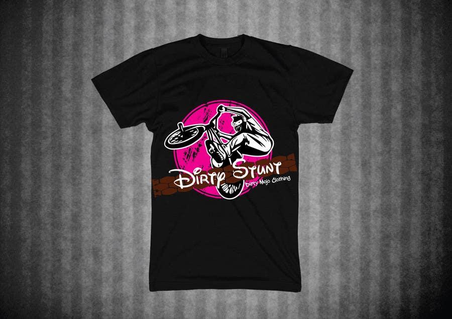 Proposition n°                                        34                                      du concours                                         T-Shirt Design Contest: Dirty Stunt