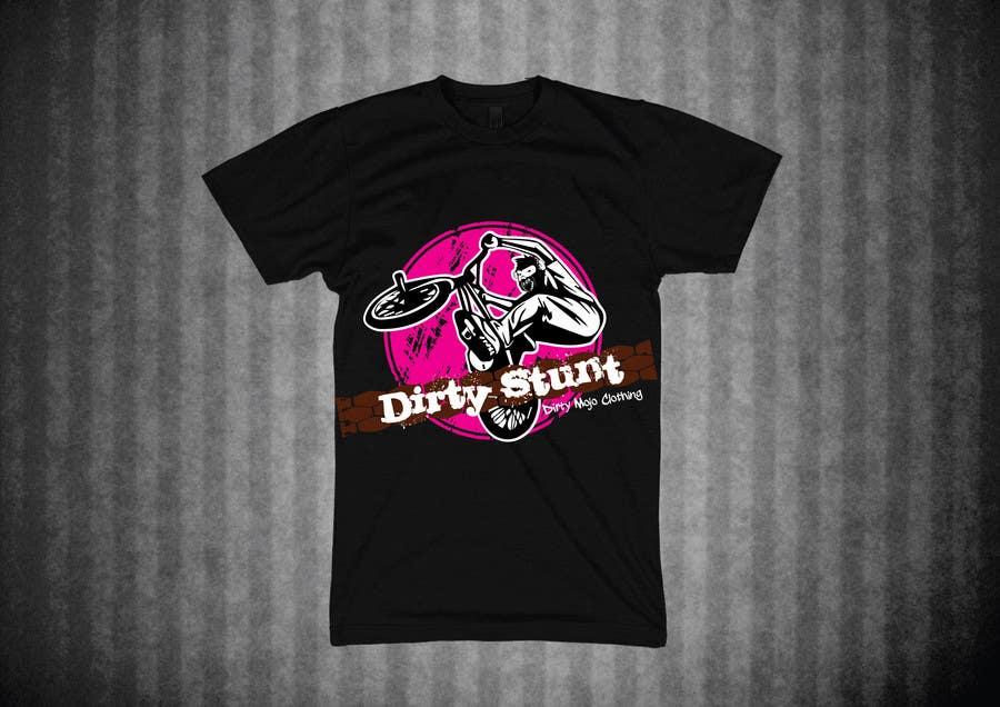 Proposition n°                                        35                                      du concours                                         T-Shirt Design Contest: Dirty Stunt