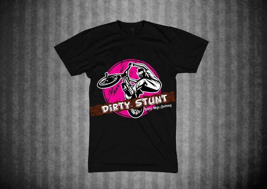 Proposition n°                                        36                                      du concours                                         T-Shirt Design Contest: Dirty Stunt