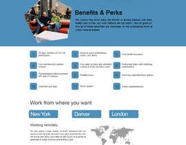 #11 para Design a Wordpress Mockup for one page and install into website por arkainfoteck