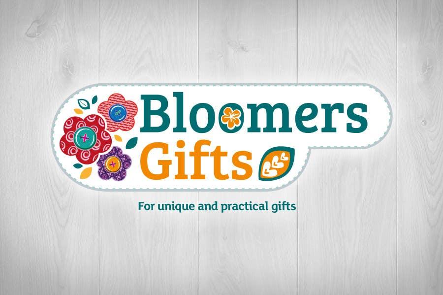 Kilpailutyö #                                        10                                      kilpailussa                                         Graphic design work for Bloomers Gifts