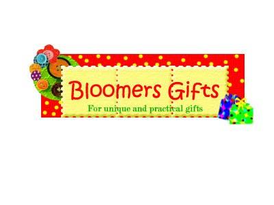Kilpailutyö #                                        30                                      kilpailussa                                         Graphic design work for Bloomers Gifts
