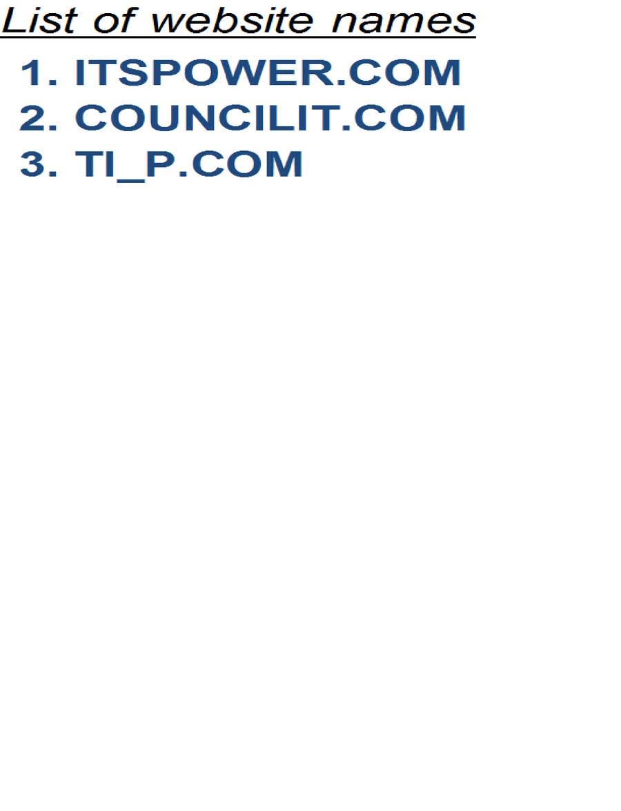 Inscrição nº                                         63                                      do Concurso para                                         Quirky name needed for IT Consultancy business