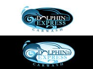 Logo Design for Dolphin Express Car Wash için Graphic Design99 No.lu Yarışma Girdisi