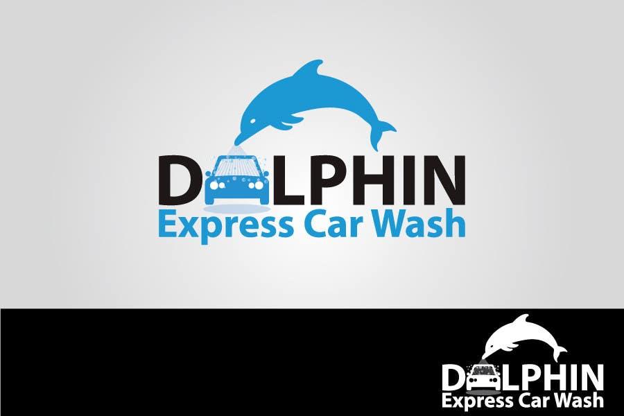 Natečajni vnos #                                        79                                      za                                         Logo Design for Dolphin Express Car Wash
