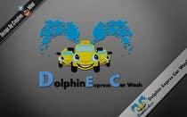 Logo Design for Dolphin Express Car Wash için Graphic Design118 No.lu Yarışma Girdisi