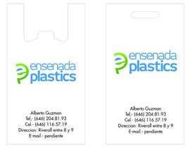 #3 para Business cards Ensenada Plastics por mebdesignstudio