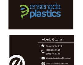 #13 para Business cards Ensenada Plastics por ro2020