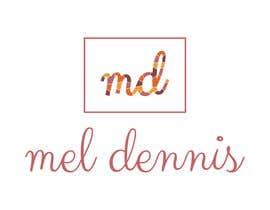 #102 untuk Design a Logo for Mel Dennis oleh cristinabenescu