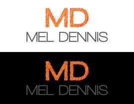 #118 untuk Design a Logo for Mel Dennis oleh vladspataroiu
