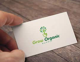 #282 per Grow Organic Supply - logo creation da RezwanStudio