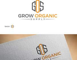 #421 per Grow Organic Supply - logo creation da shatumone