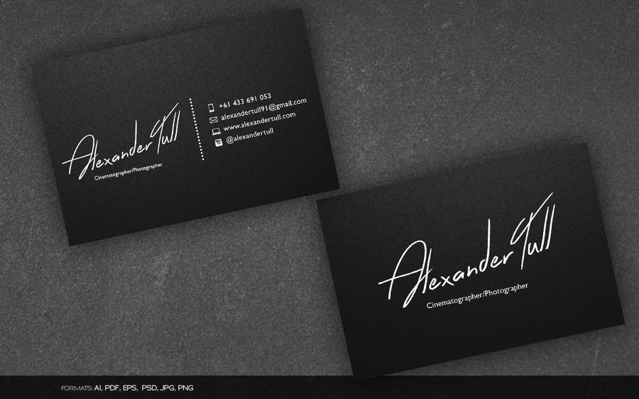 Entry #45 by arnee90 for Design some Business Cards for ...