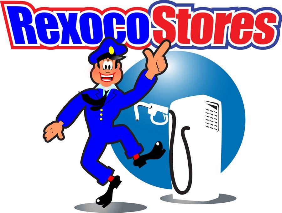 Proposition n°                                        37                                      du concours                                         Illustration Design for Rexoco Stores