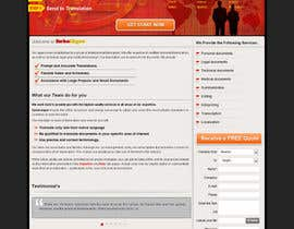 #5 for Website Design for Turbolingvo af kosmografic