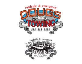 #74 para Logo Design for Dougs Towing de KandCompany