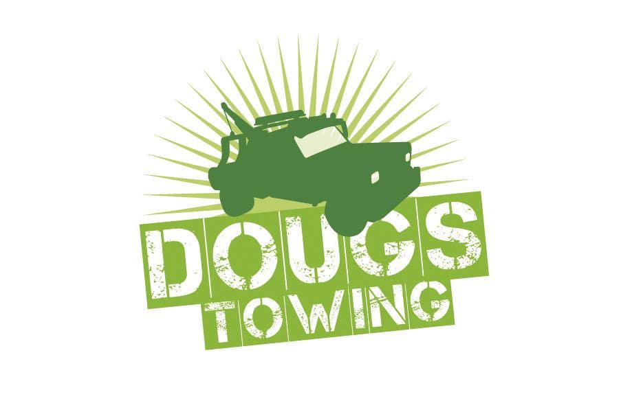 Penyertaan Peraduan #64 untuk Logo Design for Dougs Towing