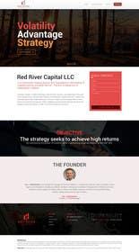 #6 для Web site for financial trading company от saidesigner87