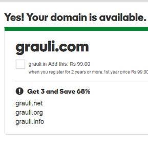 #2 , Name a Web & App Development Company with Domain Availability 来自 Mpareek1978