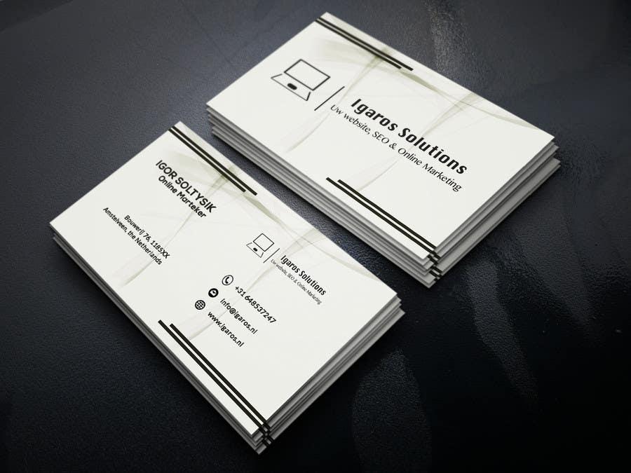 Entry #437 by UmmulJubaidaEsha for Business cards design needed ...