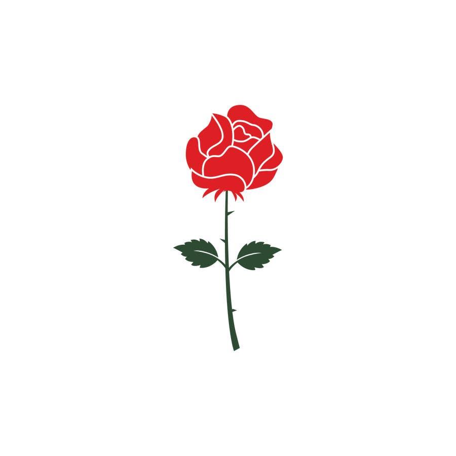 Participación en el concurso Nro.                                        15                                      para                                         Design a rose logo