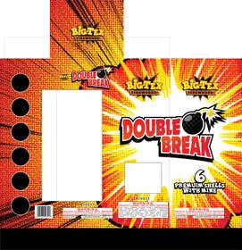 #2 for Redesign the graphics for a box of re-loadable artillery shell fireworks by SabreToothVision
