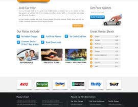 #81 para Website Design for Avid Car Hire por BizzCreator