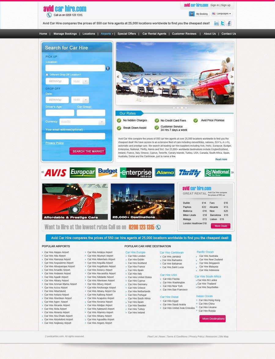 Inscrição nº                                         80                                      do Concurso para                                         Website Design for Avid Car Hire