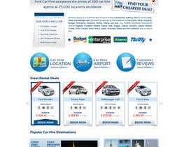 #73 para Website Design for Avid Car Hire por datagrabbers