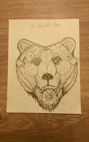 #6 for Handrawn Artistic Bear (head only) Design by Cinamora