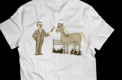 #18 für Design a T-Shirt LLoyd feeding the pony von yanuarantabua2